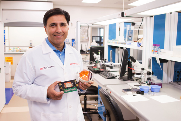 President Obama honours USC Eye Institute's Dr. Mark Humayun with National Medal of Technology and Innovation