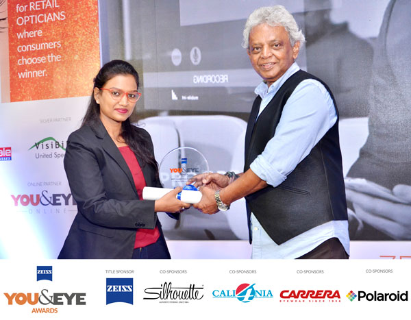 ZEISS 'YOU&EYE' AWARDS 2017: Winner Of Best Marketing Initiative – Boutique Stores Retail Chains (All India)