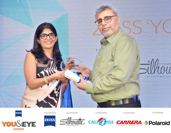 ZEISS 'YOU&EYE' AWARDS 2017: Winner Of Excellence in Customer Service – Boutique Stores Retail Chains (All India)