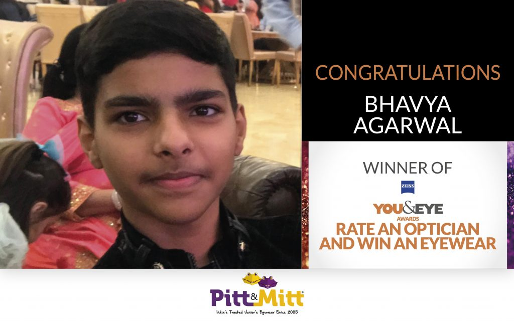 New Delhi's Bhavya Agarwal Has Won An Exciting Pair Of Sunglasses In The 'Vote And Win' Campaign!