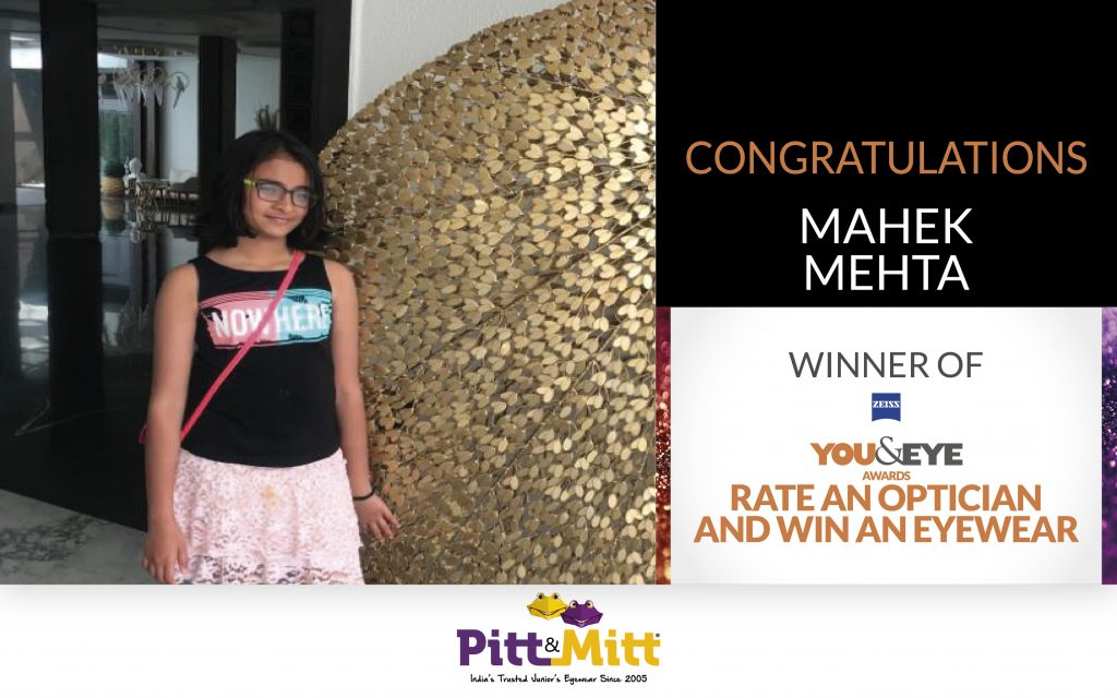 Mahek Mehta Won An Exciting Pair Of Sunglasses In 'Vote And Win' Campaign!