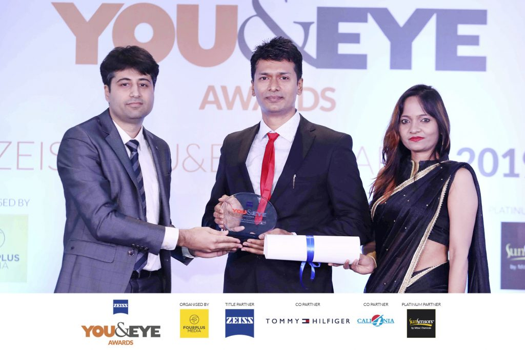 Winners for Excellence In Clinical Support- Boutique Store ( Non-Metros) : Eye Savers, Hubli