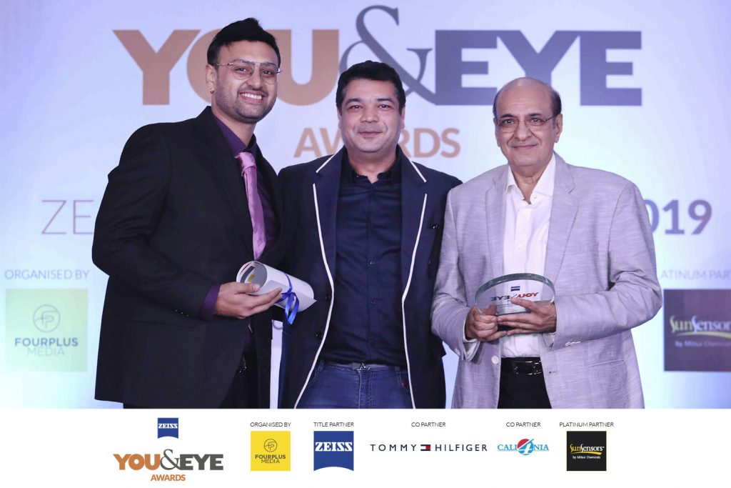 Winners for Excellence in Customer Service- Boutique Store (Metros) : R. Kumar Optician