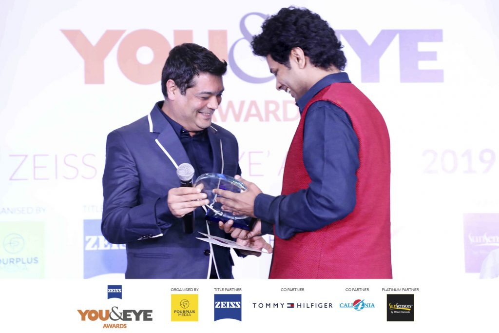 Winner Best Store Display And Design- Boutique Store (Non-Metros) : The Spectacle Company – By Darsana Opticals, Kochi
