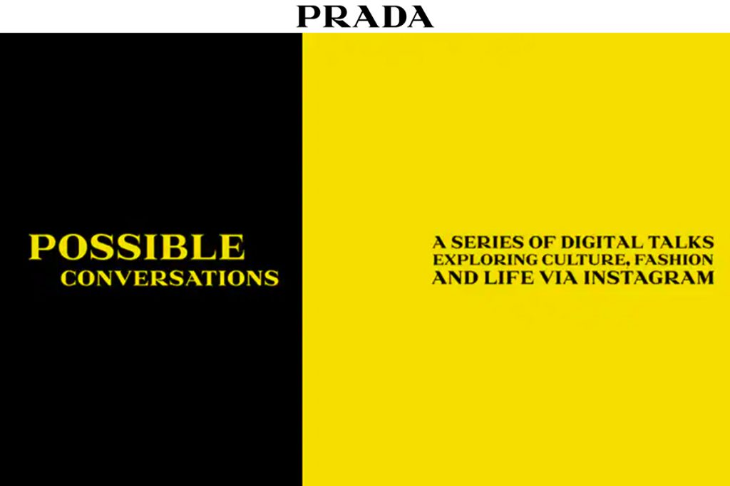 PRADA Launches 'Possible Conversations'